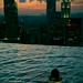 Skinny dip on the world highest pool by sunset by Quawazear