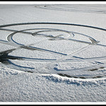 Snow Crop Circles