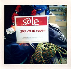 20% off Climbing Rope Sale