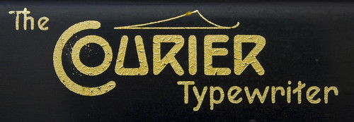 Courier Typewriter logo