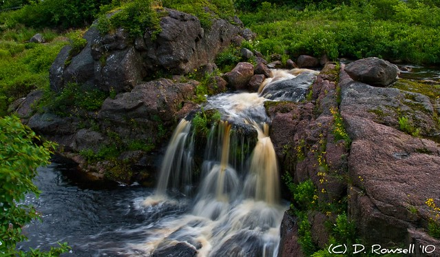Petty Harbour Waterfall