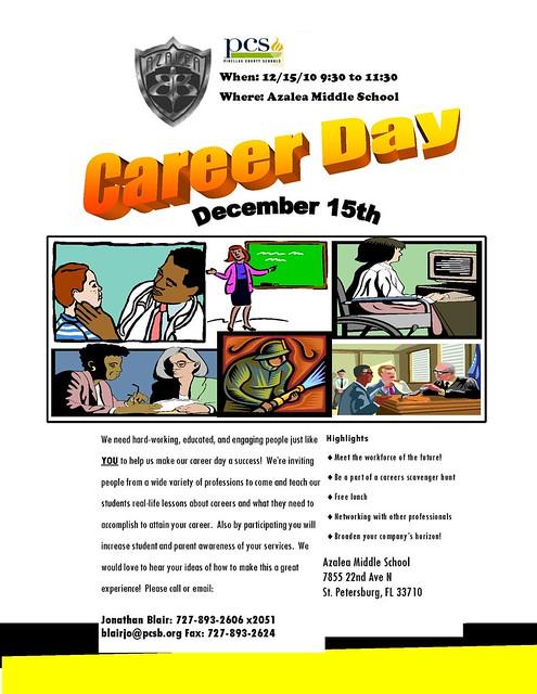 Career Day Flyer