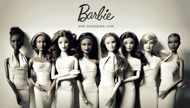 New Barbie Basics: color nude.