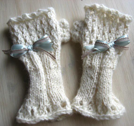 Rękawiczki dla panny młodej