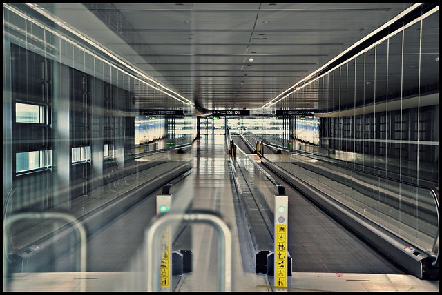 [ Destination choices : Sensual discovery ] Dublin Airport, Ireland [ Pier D in sight - Terminal 1 ]