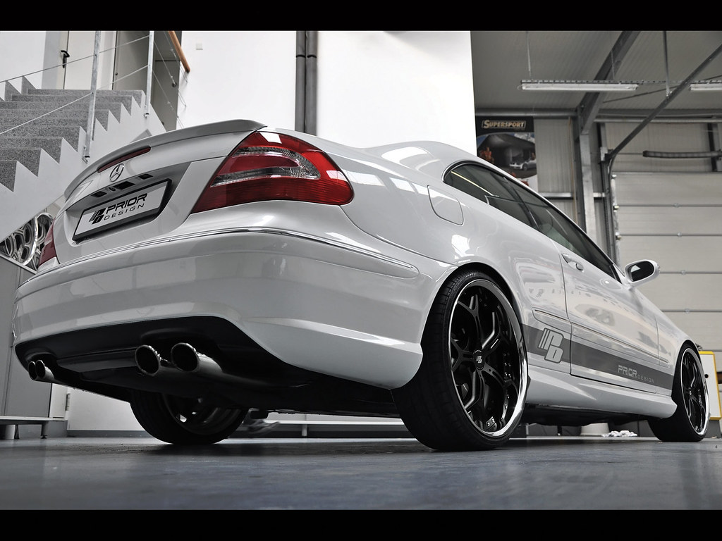 Mercedes clk w209 full body kit clk55 clk500 clk350 amg ebay for Mercedes benz amg kit
