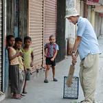 Playing Cricket on the Streets of Kolkata, India