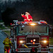 Nothing Says 'Merry Christmas' like Santa on a Fire Truck