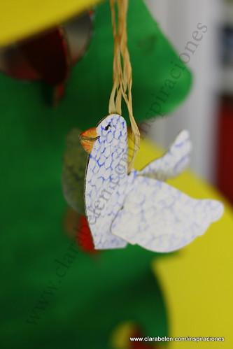 Inspiraciones manualidades y reciclaje manualidades de for Manualidades navidenas preescolar