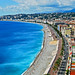 View from Chateau Hill, Nice, France.