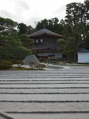 Rock garden at Ginkaku-ji
