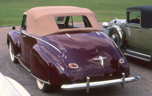 1940 lincoln zephyr convertible flickr photo sharing. Black Bedroom Furniture Sets. Home Design Ideas