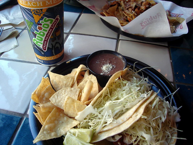 Rubio 39 s fish tacos flickr photo sharing for Rubios fish taco tuesday