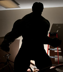The Hulk's Silhouette