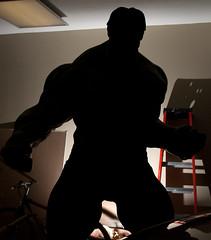 The Hulk's Silhouette