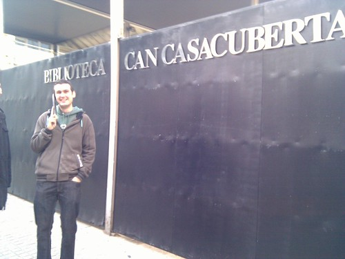 Al punt núm 2: biblioteca de Can Casacuberta