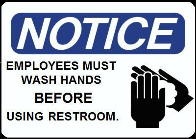 Republican: Restaurant Worker Hand Washing Should Be Optional