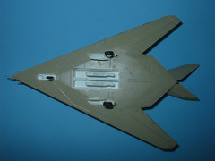 Dragon/DML 1/144 YF-117A in original underside light beige