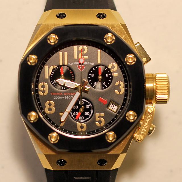 Watches Swiss Legend Tri Mix : Swiss legend trimix diver chronograph picture of the