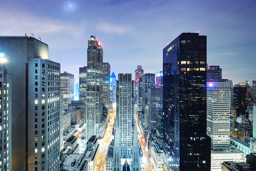 Midtown Manhattan at Night, New York City