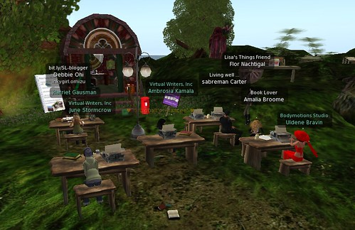Daily Poetry Dash at Milk Wood Colony For Writers (Second Life)