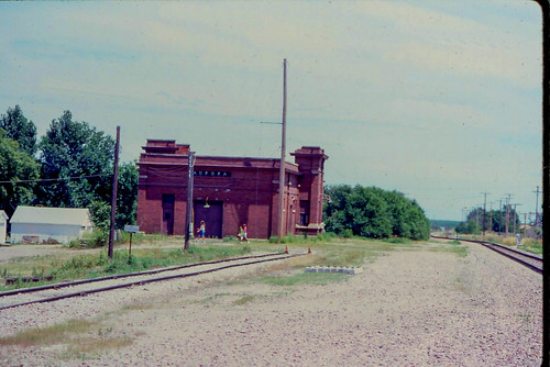 railroad nebraska aurora depot burlingtonnorthern
