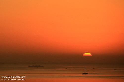 Sunrise over Karachi :)