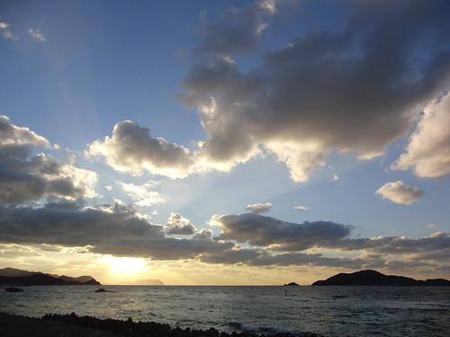 小串海岸から響灘