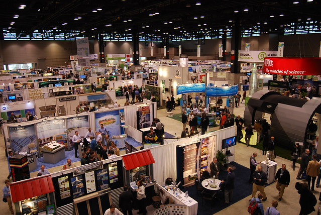 Tradeshow floor greenbuild 2010 flickr photo sharing for Craft fair boston 2017