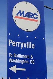 MARC station in Perryville MD