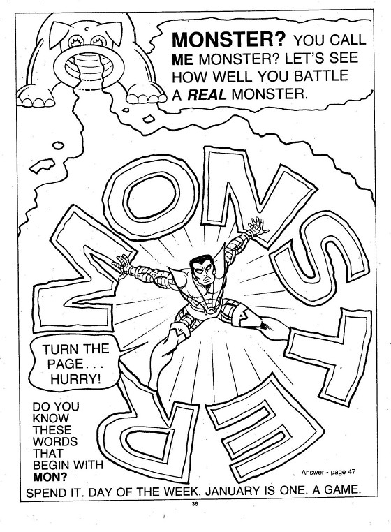 X-Men Super Activity Book00037