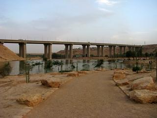 Lake at Wadi Hanifah