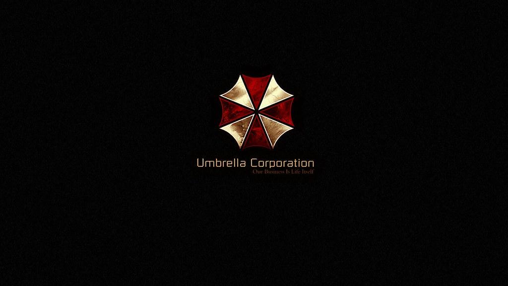 Umbrella Corporation Gold Logo Wallpaper A Photo On Flickriver