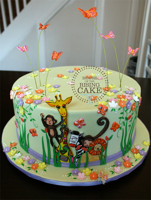 Cake Baby Shower Safari : Jungle baby shower cake Flickr - Photo Sharing!