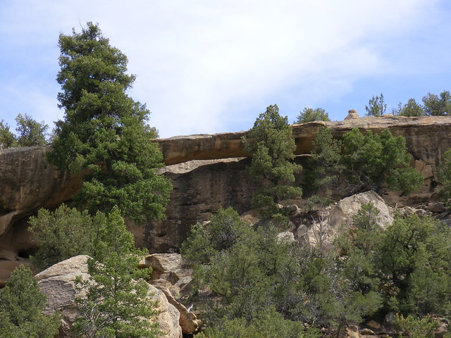 New Mexico Natural Arch NM-240 Tafoya Canyon Arch