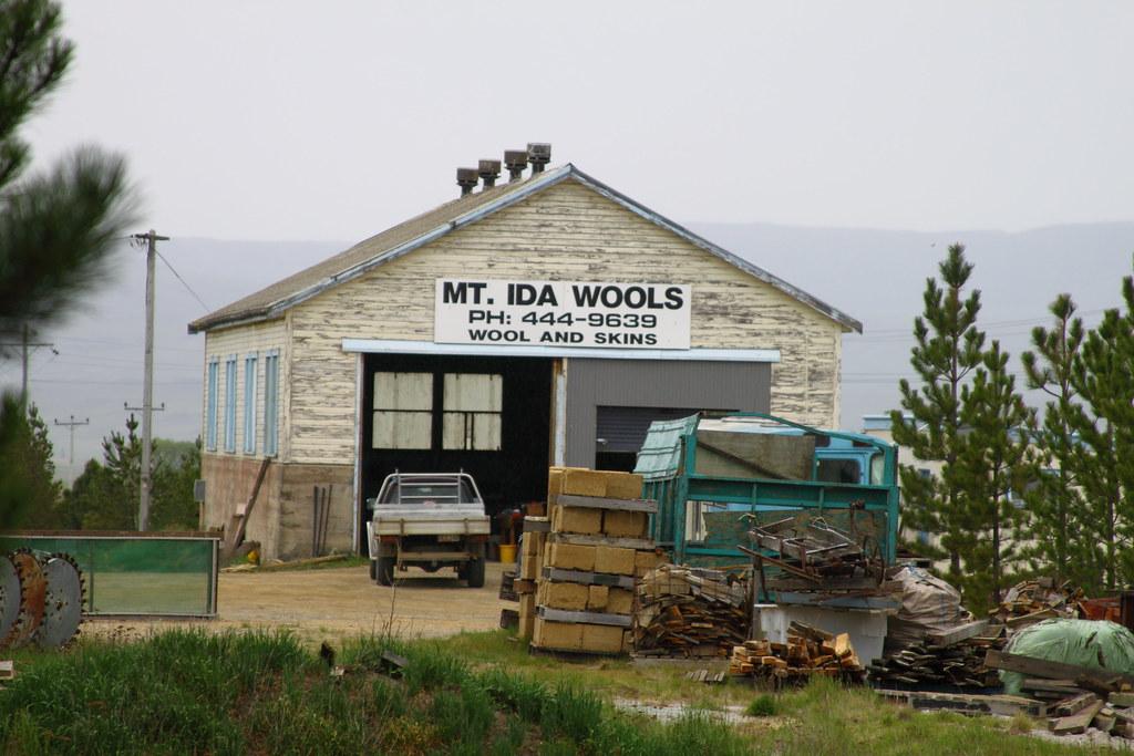 Ranfurly old Loco Shed