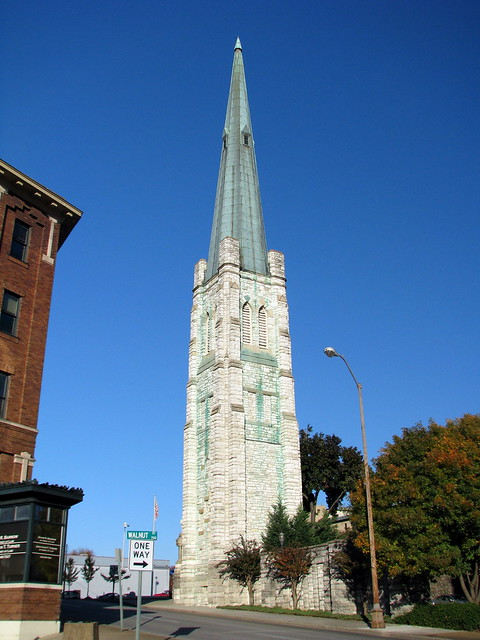First Methodist Church Steeple - Chattanooga