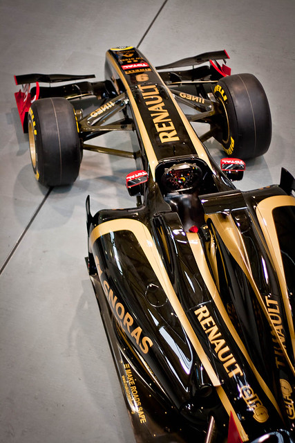 Lotus Renault GP Livery Launch (Renault F1 Team R30)
