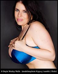 Aviva's Blue Brassiere