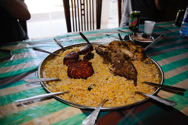 Traditional Omani Food by CC user 21712342@N07 on Flickr