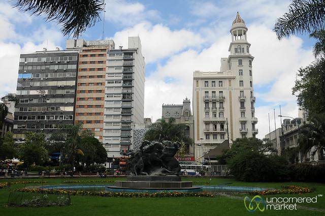 Downtown Montevideo, Uruguay