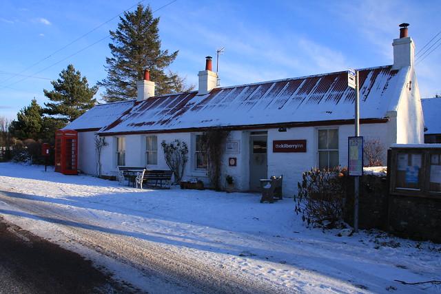 The Kilberry Inn.