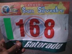 Bib San Silvestre 10K