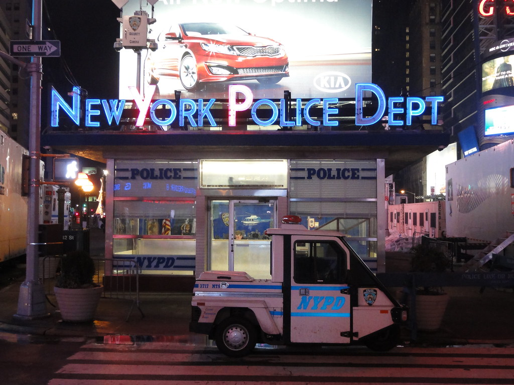 Nypd new york city police department times square station