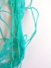 art(0.0), turquoise(0.0), knot(0.0), jewellery(0.0), green(0.0), chain(0.0), crochet(0.0), rope(0.0), necklace(0.0), blue(0.0), bead(0.0), textile(1.0), aqua(1.0), turquoise(1.0), teal(1.0),