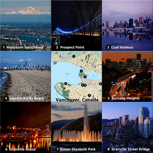 Gord's Favourite Vancouver Viewpoints (1 through 8)