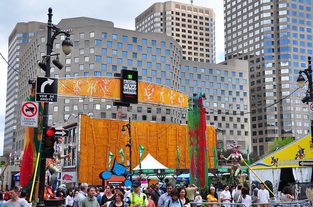 Festival de Jazz à Montréal - Flickr CC husseinabdallah