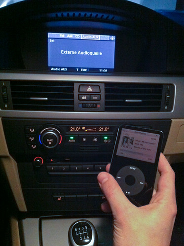 ipod im 3er bmw anschlie en cat dev brain dev blog. Black Bedroom Furniture Sets. Home Design Ideas