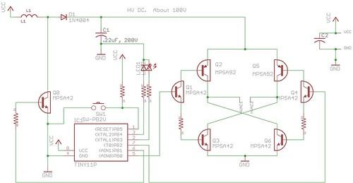 El wire inverter schematic laptop lcd