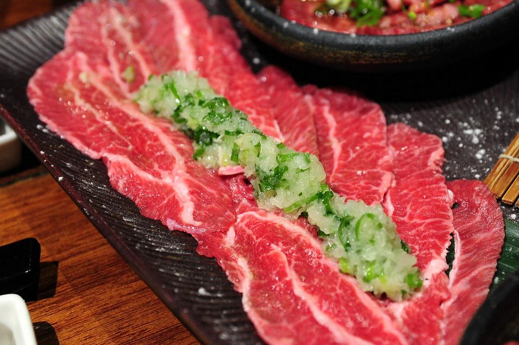 老乾杯 - 鹽蔥牛頰肉 NT$380